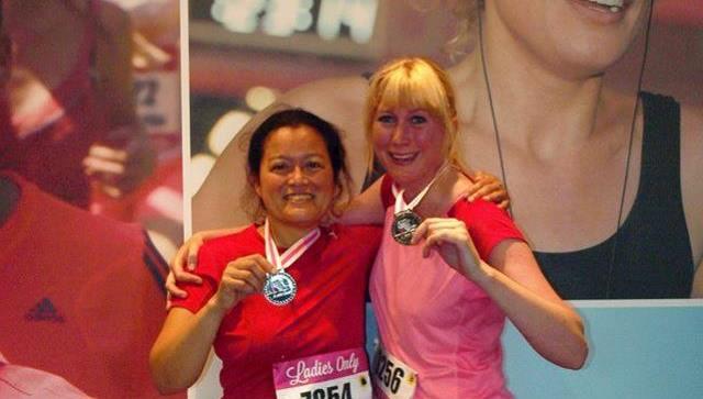 Medaille na Ladiesrun